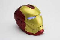 Iron Man Mini Speaker Mini HiFi Boombox Support TF Card /U-Disk DHL FREE SHIPPING  ZKT