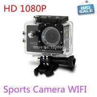 HD 1080P sj4000  wifi camera Gopro action camera Go pro hero 3 style 30M waterproof  sport camera free shipping.