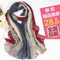 2014 scarf lace print fluid female silk scarf ultralarge cape dual 4hcezi9lfenvz677rrnvksn48h