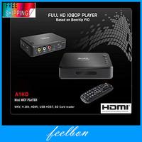 Measy A1HD Full HD HDMI 1080p USB MKV/AVCHD/MOV/H.264 TV Box Network Media Video advertising player 3D SD Card