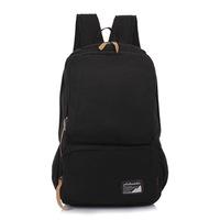 Wholesale 2014 Korean version of casual lovers schoolbags canvas bag men and women shoulder bag large capacity solid back cc32