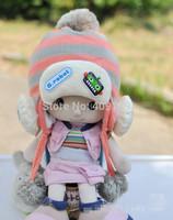 2014 Baby Hat Cap with ear flap Cartoon Robot Hats Knitted Crochet  Warm Fleece Thickening Girls Boy Winter caps