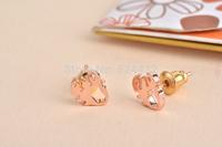 Free shipping 10pcs/lot Scorpion Pattern Stud Earrring, Tiny Waving Claws Scorpion Stud Earrings ED059