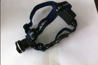 Promotions Cree XM-L T6 1800 Lumens 3-Mode Zoomable led Headlamp Light for Hunting Cycling & Camping use 2 X 18650 battery