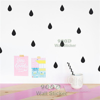 Little Raindrop Wall Sticker Wall Decal, Removable home decoration art Wall decors Free Shipping