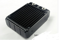 Computer water cooling radiator R120Y double heat exchanger discharge aluminum can set 1 fans exhaust  cooled exhaust computer