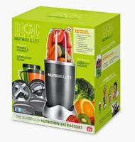 Wholesale Nutri 12pcs/lot Bullet Food Mixer Machine 220V 600W 12pieces IN 1 New,AU Plugs For Australia New Zealand