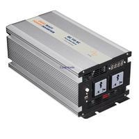 2000w peak 4000w pure sine wave inverter 12V DC turn 220V AC duble output USB