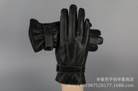 Xinji City, the new sheep skin warm autumn and winter fashion boutique Gloves Mens Leather gloves factory direct