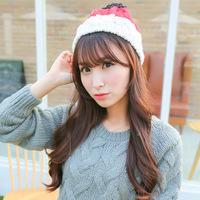 M39 Street trendsetter spell color cute Mao Xianmao Knitted Hat Winter bonnet Korean warm hats wholesale