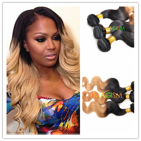 Ombre Remy Human Hair Extensions 66