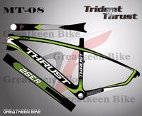 26er 29er 27.5er Trident Thrust MT8 fixed gear bike frame mountainbike frame cuadros de bicicleta carretera 2015 frame cycling