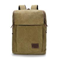 wholesale canvas bag casual bag student backpack shoulder bag leisure bag men and women the same paragraph cc42