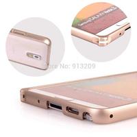 02 New Circular Arc Metal Hard Aluminum Bumper Frame for Samsung Galaxy Note 3 N900 N9000 N9005 N9008 N9009 Phone Case Capa