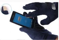 New fashion winter glove men/women's fleece glove touching screen glove warm glove Free shipping