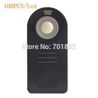 """100pcs Lot """"For Logo"""" Version Camera IR Remote Switch ML-L3 Remote Control for D7000 D5100 D5000 D3000 D90 P6000 P7000 D60"""