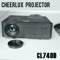 2014 newest great usb hdmi projector with multimedia interface 1500:1 contrast ratio TFT LCD Technology suit for worldwide