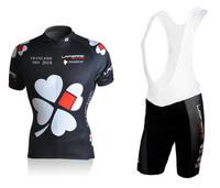 Free shipping! black women cycling jersey bib shorts girl bicycle wear set Free shipping XS~4XL