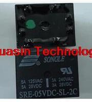 Relay closed-8 foot SRE-05VDC-SL-2C 5A-250AC 2 2 original spot