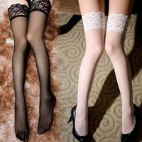 Sexy women's stockings thigh socks transparent stockings lingerie