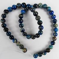Q0887 Free Shopping Beautiful Trendy Sea Sediment Jasper loose bead (8mm)1 strip