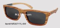 stitching wood sunglasses