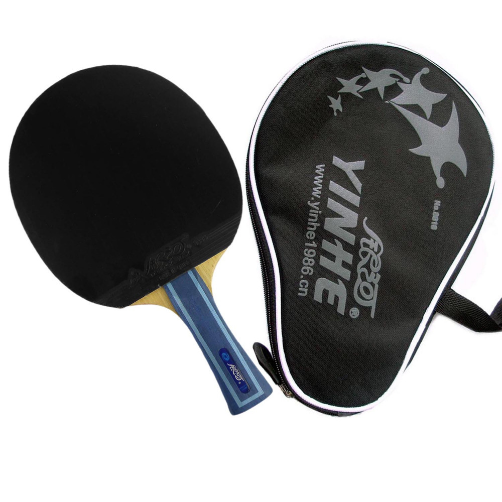 Yinhe / Milky Way / Galaxy 06B (06 B, 06-B) pips-in shakehand table tennis racket + a bat case(China (Mainland))