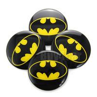 4 x 60mm The Dark Knight Batman logo universal Car auto Steering Wheel Center Hub Cap Emblem Badge Decal Symbol Stickers #4419*4