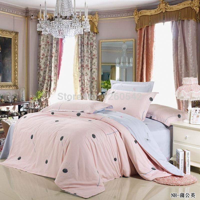 achetez en gros housse de couette rose p le en ligne des. Black Bedroom Furniture Sets. Home Design Ideas
