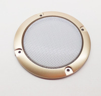 Gold horn 3 decoration circle white protective iron audio accessories loudspeaker speaker grille