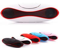 2014 New Wireless Bluetooth Speaker TF + FM Radio Built-in Mic Hands-free Portable Mp3 Mini Subwoofer Retail Box  wholesale