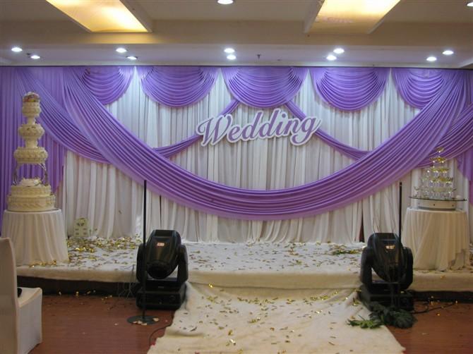 wedding-background-yarn-curtain-Wedding-Backdrops-Wedding-stage-decor ...