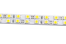 19.7 pollice super slim 4 mm smd3528 bianco puro bianco caldo rosso verde blu giallo striscia rigida led lighting 60 led per la scatola chiara(China (Mainland))
