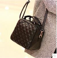 Handbags HOT! 2014 autumn fashion one shoulder women handbag women leather handbag casual free shipping
