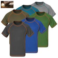 2014 new year mammoth coolmax t shirt christmas gift summer quick dry t shirt men hiking climbing Outdoor Sport 3d t shirt