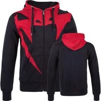 "VENUM ""ASSAULT"" HOODIE - RED DEVIL BLACK/GREY  MMA training fight  HOODIE"