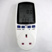 UK plug in energy meter electricity monitor energy saving meter,power meter