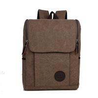 Korean version of casual shoulder bag cute female student influx of men and women canvas backpack schoolbag travel bag cc42