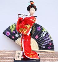 Free shipping 30cm  japanese geisha dolls Beauty decoration gift