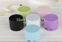 Magic S10 Wireless Bluetooth plastic speaker Mini TF/SD Card With MIC handsfree plastic Music Speaker FREE SHIPPING  ZKT