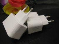 2A EU Plug Dual USB  Mobile phone travel wall Charger Adapter For IPad 2 /3 IPhone 4GS 4G Samsung S3 HTC Free shipping
