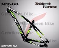 26er 29er 27.5er Trident Thrust MT3 carbon frame mtb 27.5er carbon bicycle road frameset disc brake bicycle frames road racing