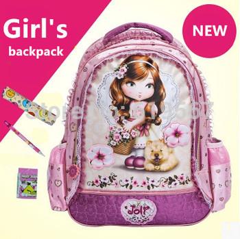 Новое поступление мода мультфильм девушки рюкзак малыш школьные сумки сумка рюкзаки