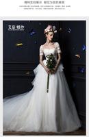 Vestido De Noiva 2015 Fashionable Plus Size Vintage Ball Gown Lace Tulle Wedding Dresses Robe De Mariage Casamento Little Bride