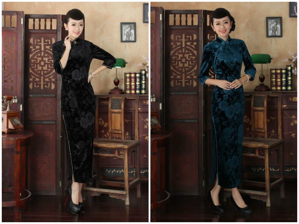 Традиционное китайское платье Laogudai 100% s m l XL xXL 3XL T0002 боди carolyn xxl 3xl