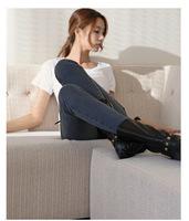 2014 Fashion Women's Autumn Elastic Cotton Gray Color Slim Pencil Jeans/Pants/Trousers,Free Shipping