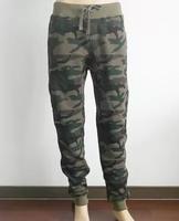 Autumn Winter Camouflage Fleece Harem Jogger  Taper Pants Men Women Hiphop Streetwear Camo Trousers Sweatpants US Size