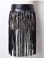 Europe station tassel fashion models stitching leather belt for men,belts for women,mens belts luxury