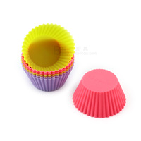 Exported to Europe 7cm round silicone cake mold small cup of pudding jelly mold Muffin oven baking mold