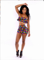 Hot sale! Novelty Style Women 2 Piece Bandage Jumpsuit Rompers Party Jumpsuits Playsuit
